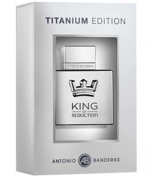 Туалетная вода ing of Seduction Titanium от Antonio Banderas для мужчин