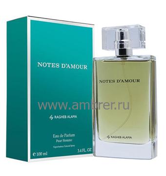 Ragheb Alama Notes D`amour