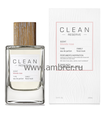 Clean Clean Blonde Rose