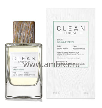 Clean Clean Smoked Vetiver