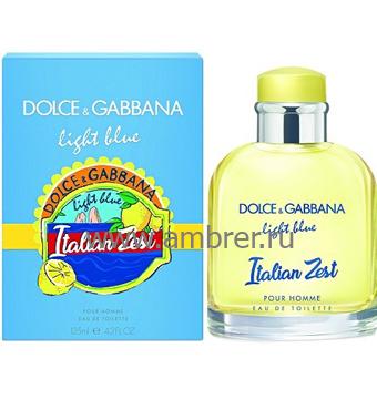 Dolce & Gabbana Light Blue Pour Homme Italian Zest