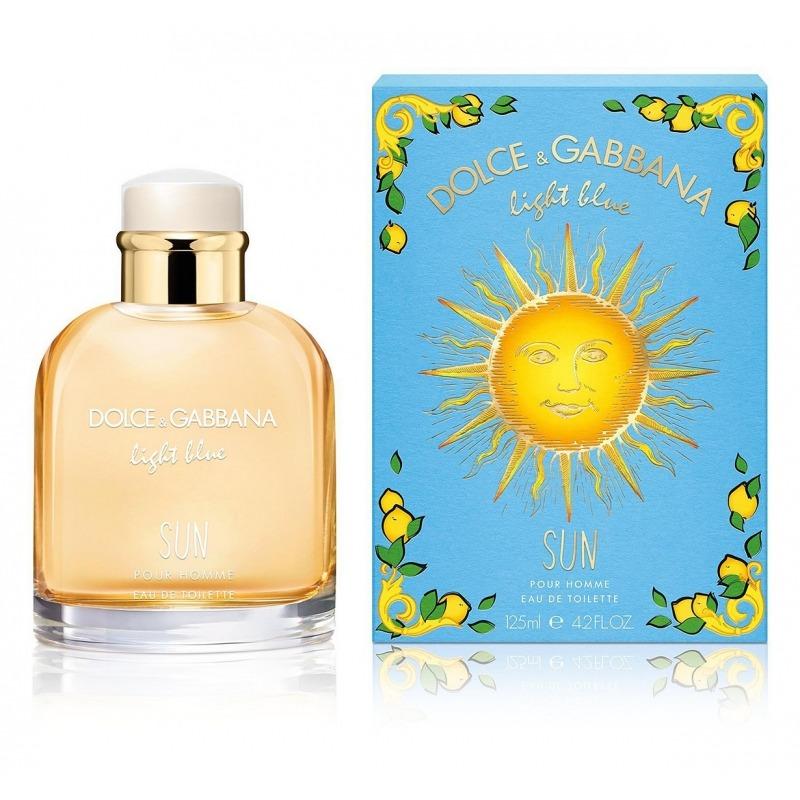 Dolce & Gabbana Light Blue SUN Pour Homme