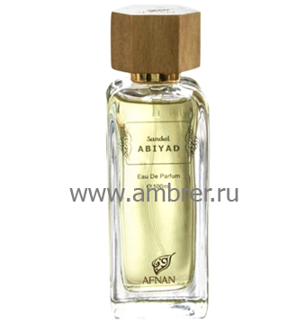 Afnan Perfumes Sandal Abiyad
