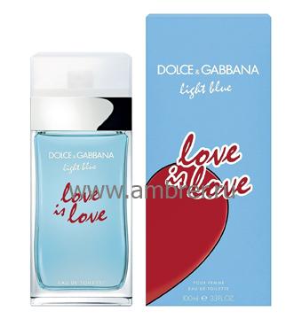 Dolce & Gabbana Light Blue Love is Love