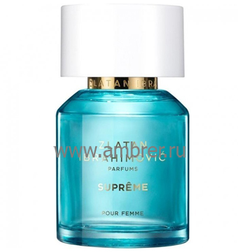 Zlatan Ibrahimovic Parfums Supreme Pour Femme