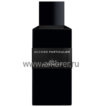 Givenchy Accord Particulier