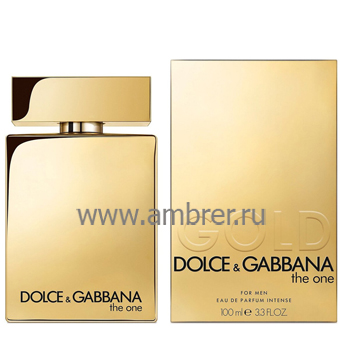 Dolce & Gabbana The One Gold For Men