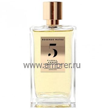 Rosendo Mateu N5 Floral, Amber, Sensual Musk
