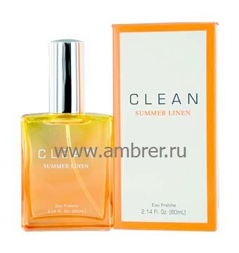 Clean Clean Summer Linen