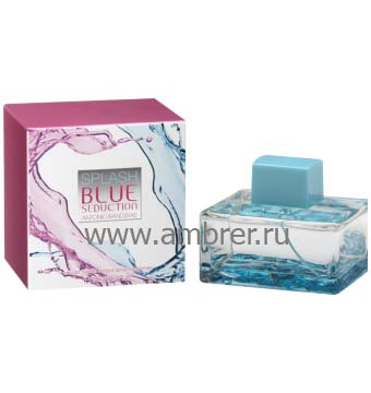 Antonio Banderas Splash Blue Seduction