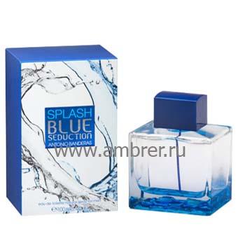 Antonio Banderas Splash Blue Seduction for Men