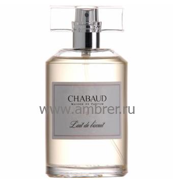 Chabaud Maison de Parfum Lait de Bisquit