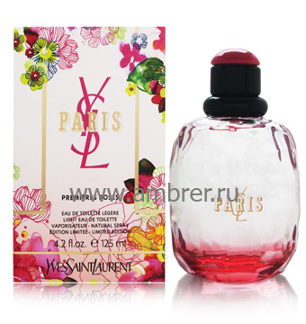 Yves Saint Laurent YSL Paris Premieres Roses 2012