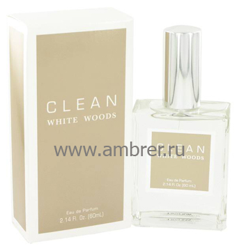 Clean Clean White Woods