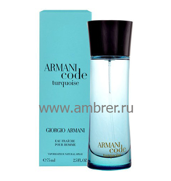 Giorgio Armani Armani Code Turquoise for Men