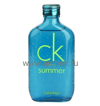Calvin Klein CK One Summer 2013